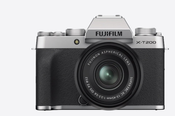 Fujifilm X-T200: the first X series camera with a digital gimbal inside