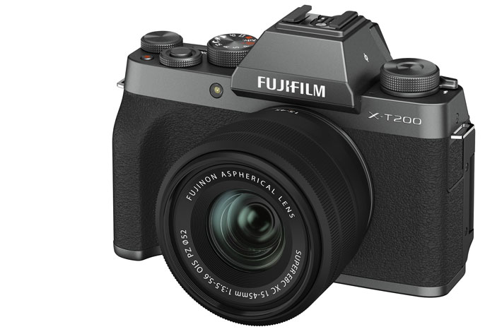 Fujifilm X-T200: the first X-series camera with a digital gimbal inside 5