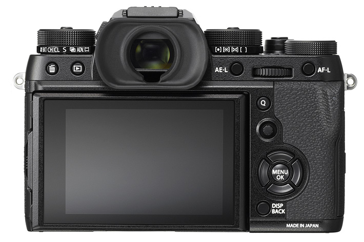 Fujifilm X-T2: new AF and UHD 4K Video