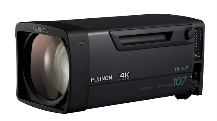 Fujinon UA107x at NAB 2016