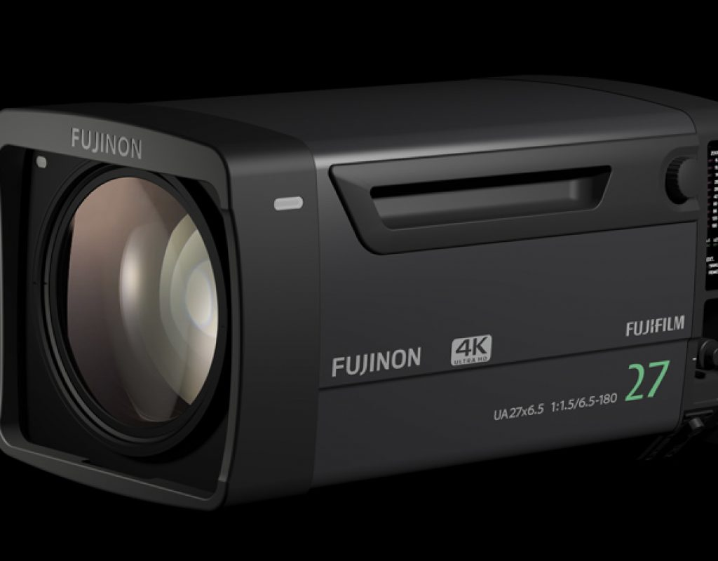 Fujinon UA27x6.5B, a new studio lens at NAB 2017