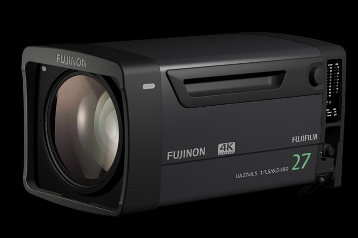 Fujinon UA27x6.5B, a new studio lens at NAB 2017