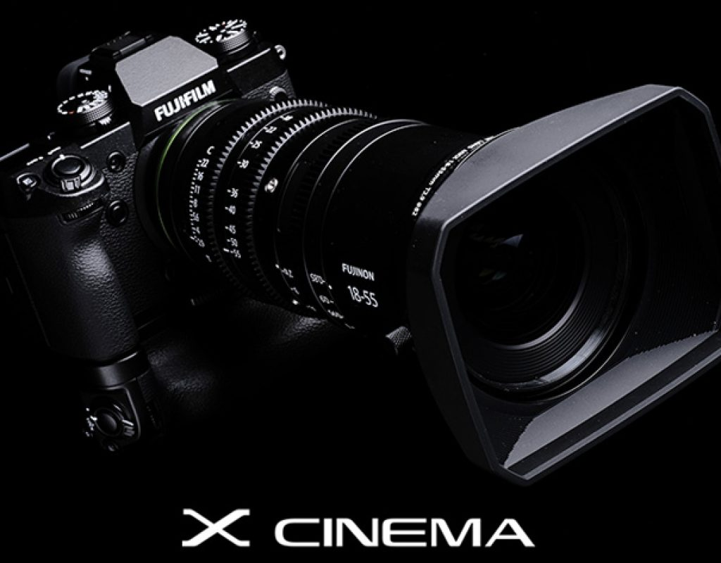 Lightweight and compact: two FUJINON Cinema lenses for the new Fujifilm X-H1