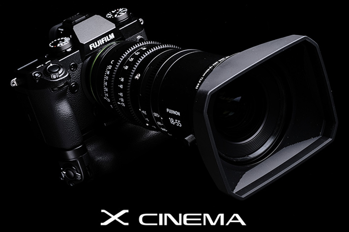 Two lightweight Cinema lenses for the new Fujifilm X-H1