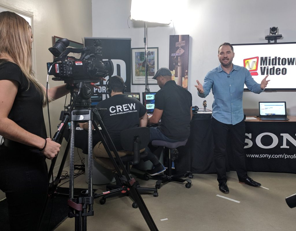 Midtown Video post NAB 2019 live event covers NewTek + LiveU 9