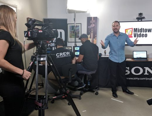 Midtown Video post NAB 2019 live event covers NewTek + LiveU 29