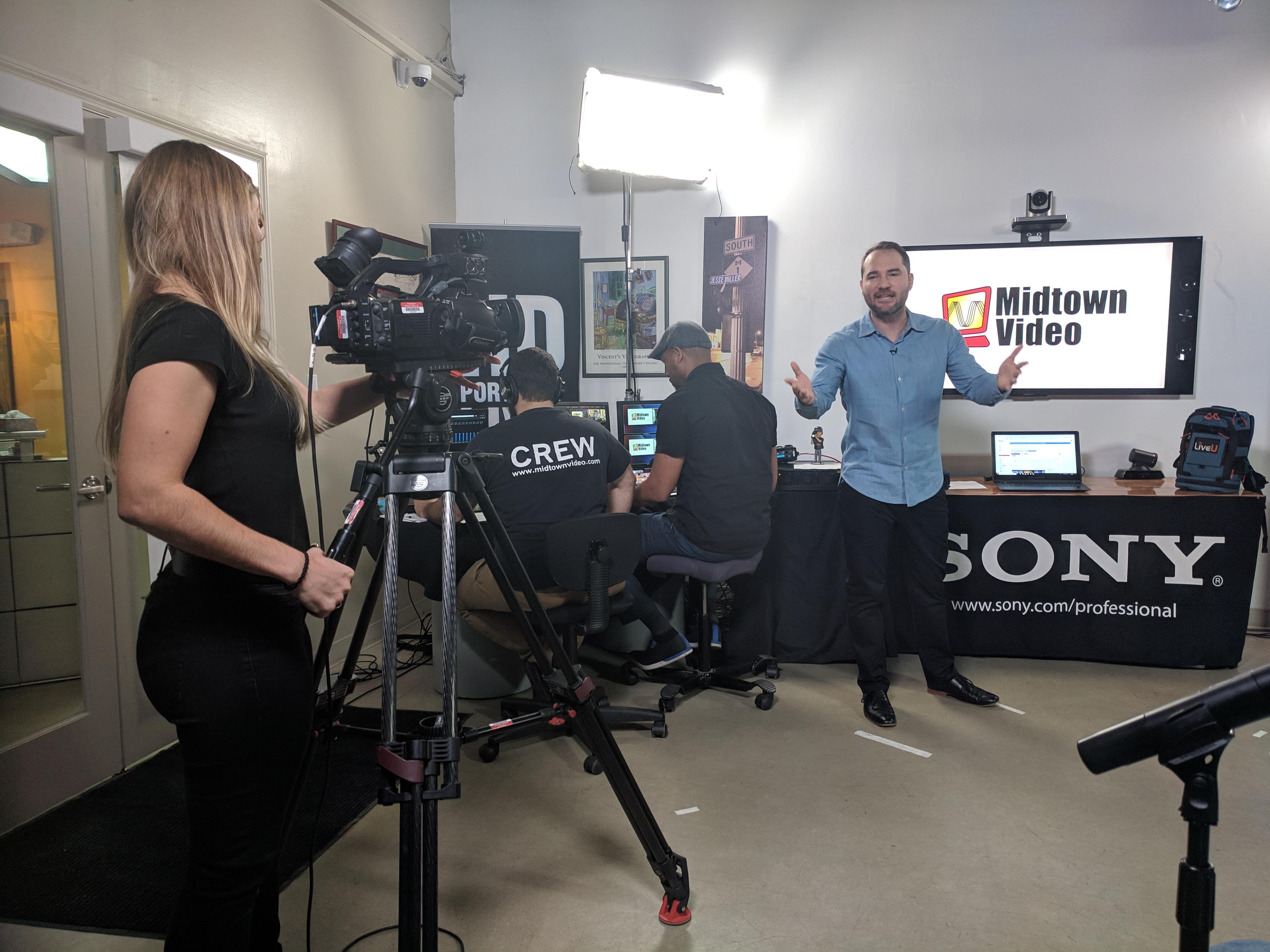 Midtown Video post NAB 2019 live event covers NewTek + LiveU 18