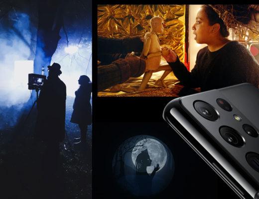 Director Joe Wright shoots with Samsung Galaxy S21 Ultra