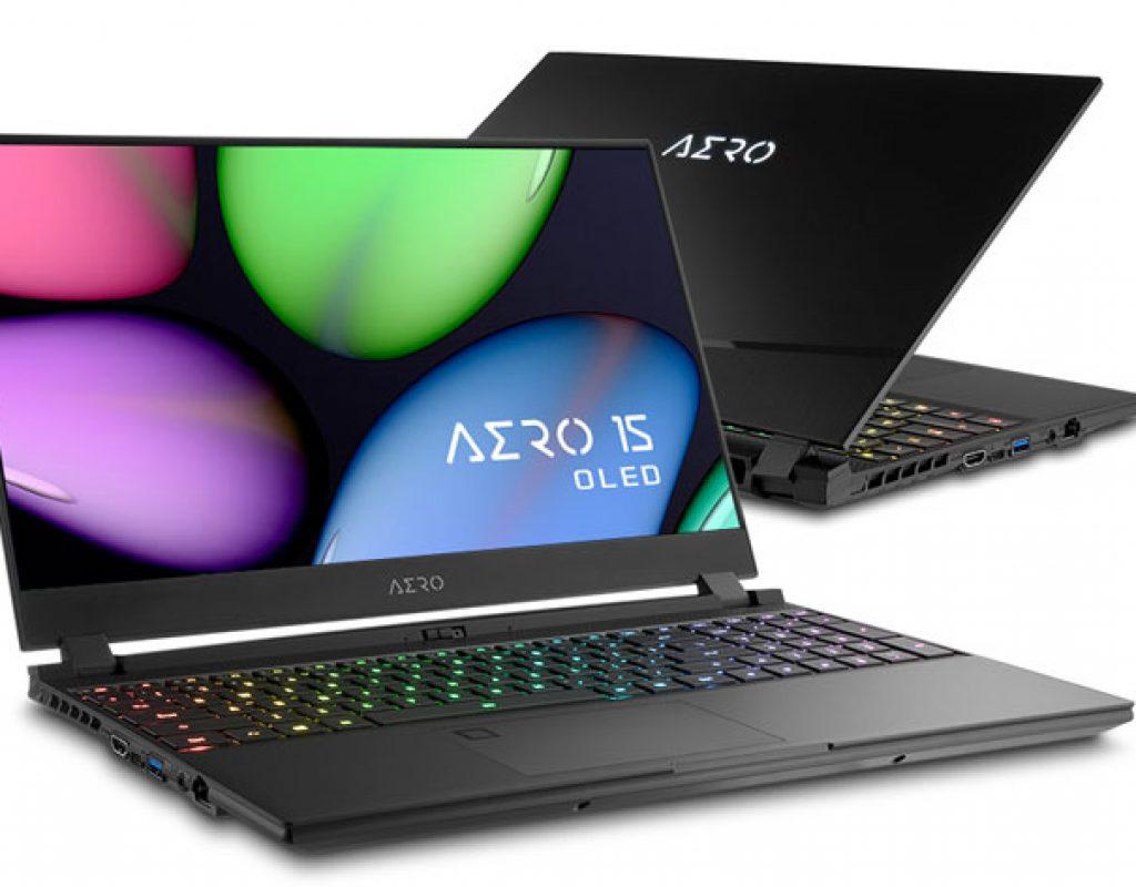Gigabyte AERO 15 OLED, a laptop built for content creators