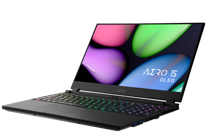 Gigabyte AERO 15 OLED, a 4K UHD laptop designed for content creators 3