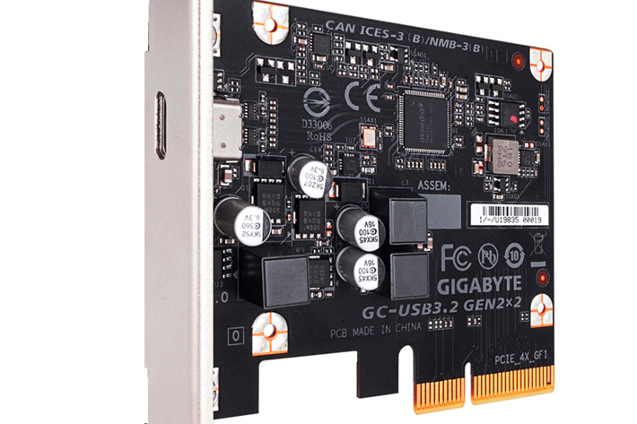 Gigabyte USB 3.2 Gen 2x2: give your old PC transfer speeds up to 20 Gbps