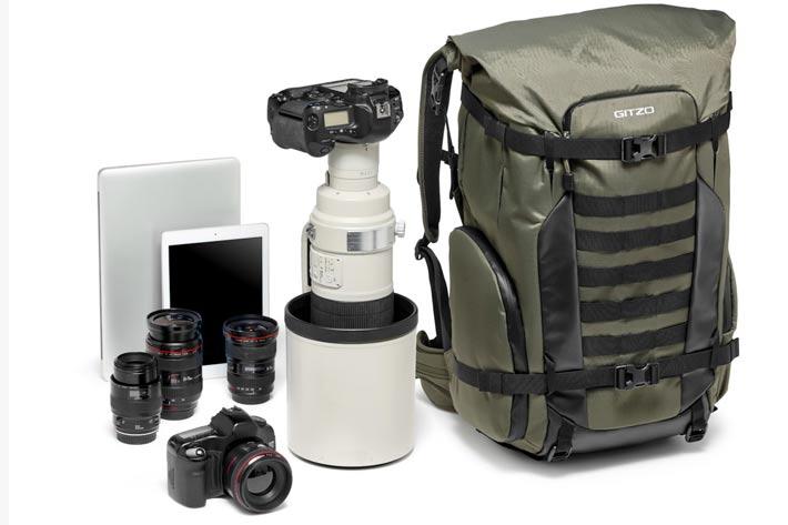 Gitzo introduces Adventury backpacks