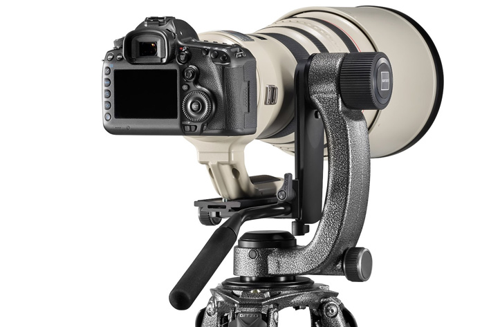 Video technology used in new Gitzo gimbal