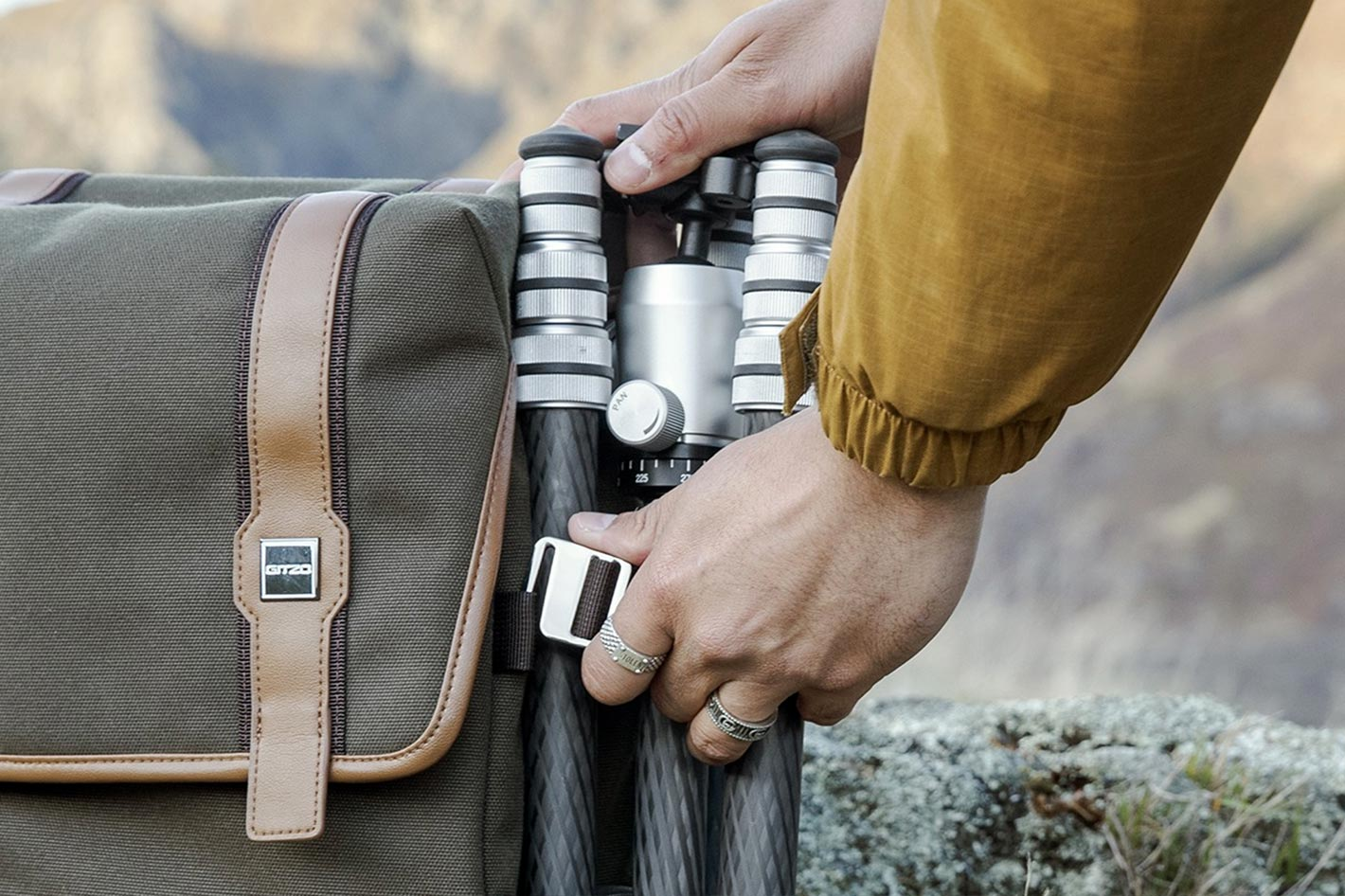 GITZO Légend: the repairable tripod and sustainable backpack