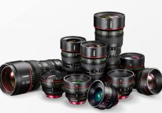 Canon: New Lenses for Video and a Storage Device