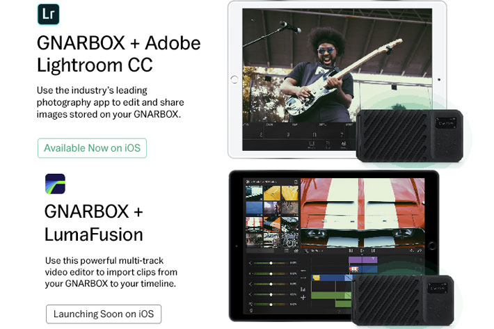 GNARBOX 2.0 SSD: new backup device funded on Kickstarter