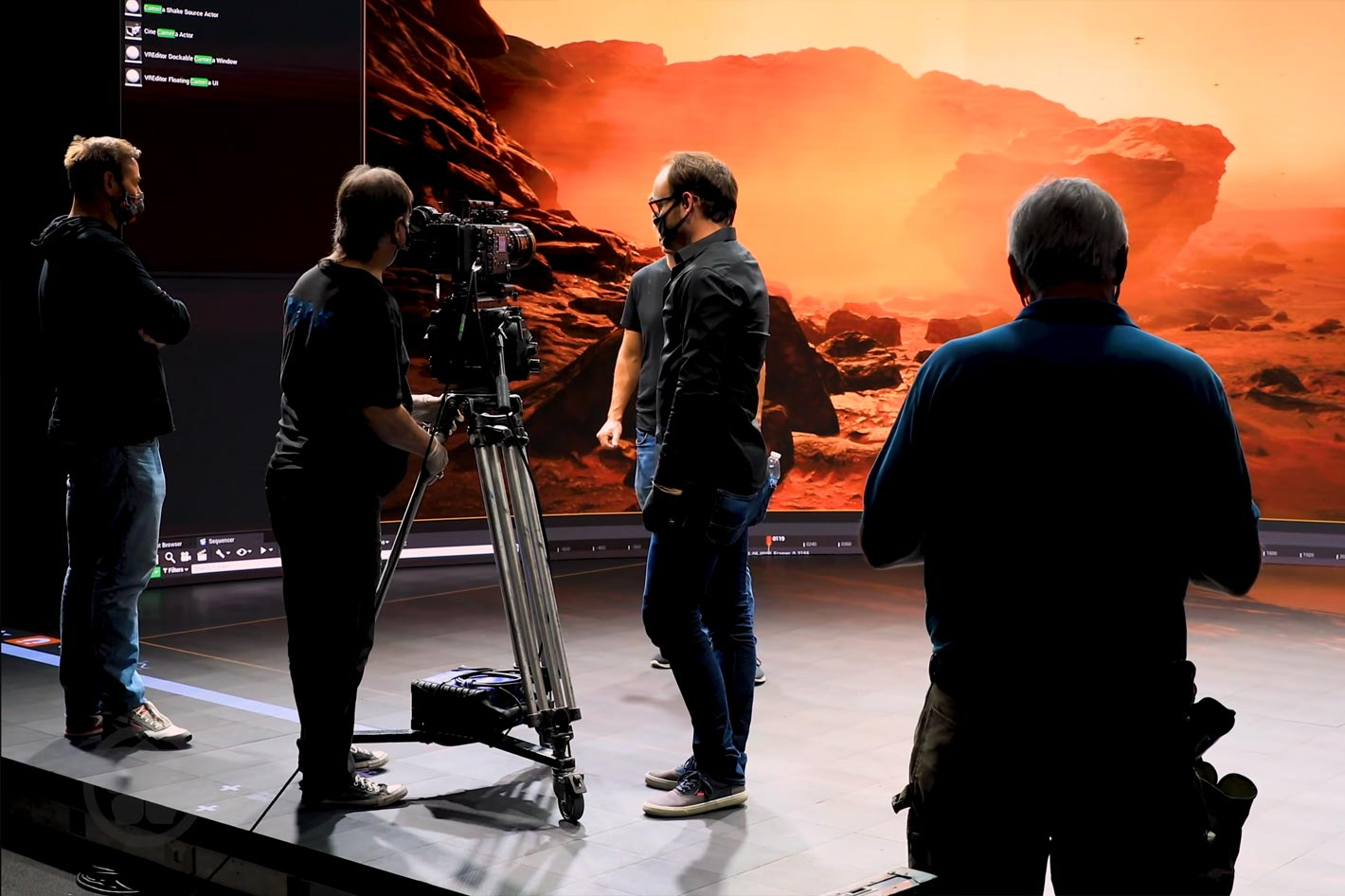 Gods of Mars: a sci-fi epic made with Unreal and Virtual Production