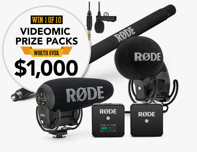 RØDE's 'Golden Ears' Challenge': Take the quiz and perhaps win 10