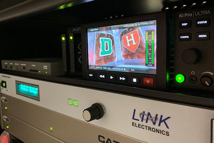 Harvard University Athletics uses AJA gear for multimedia production