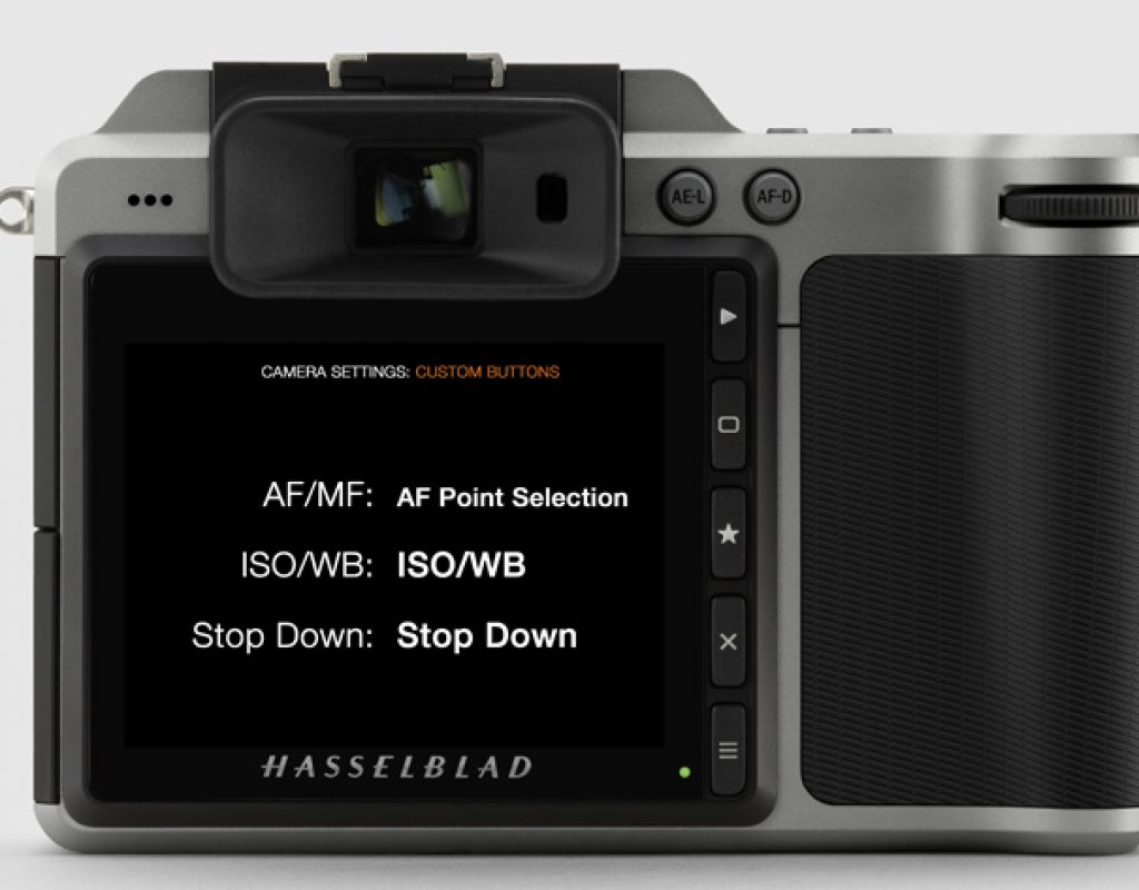 New firmware for Hasselblad X1D and H6D 3