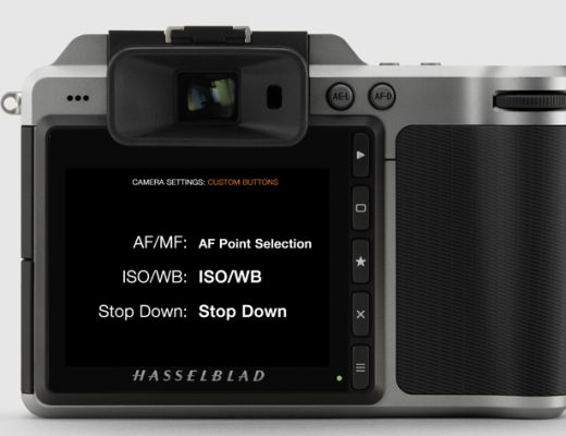 New firmware for Hasselblad X1D and H6D 6