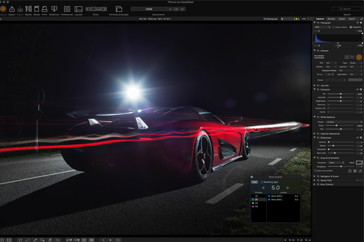 Hasselblad's Phocus is faster now