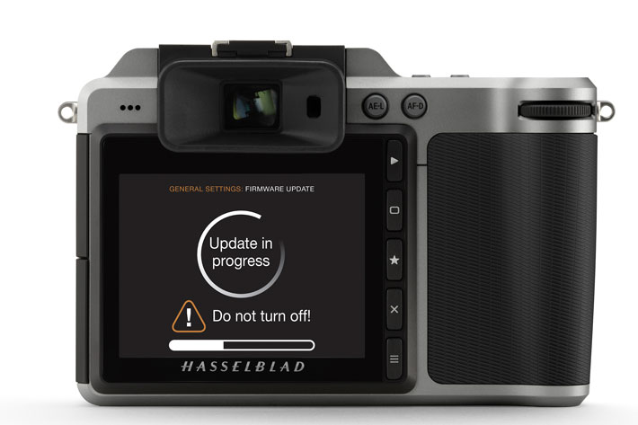 Hasselblad X1D-50C firmware update: new functions and support for lenses