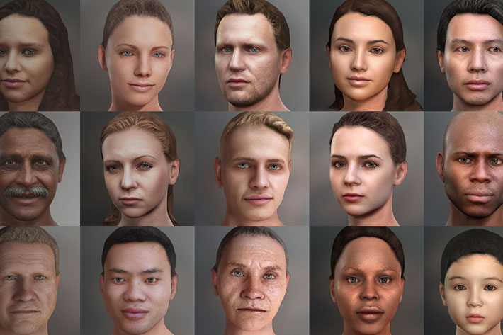 Headshot: create real-time virtual characters for films from a single photo 2