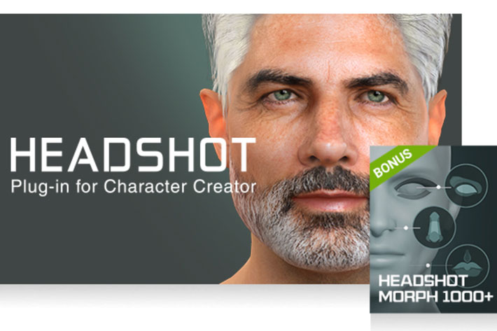 Headshot: create real-time virtual characters for films from a single photo