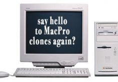 Hey, how about a MacPro clone to give us the system we need