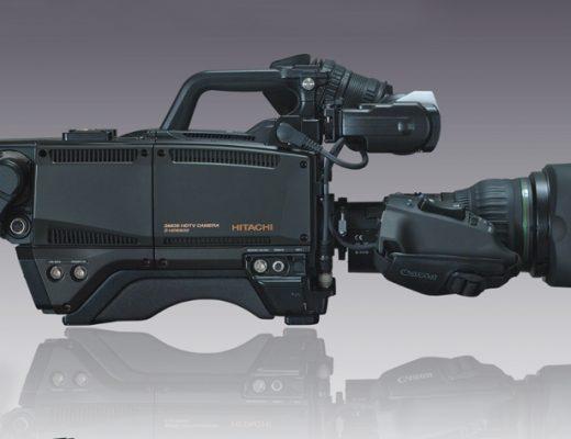 Hitachi Z-HD5500 HDTV camera at NAB 2017