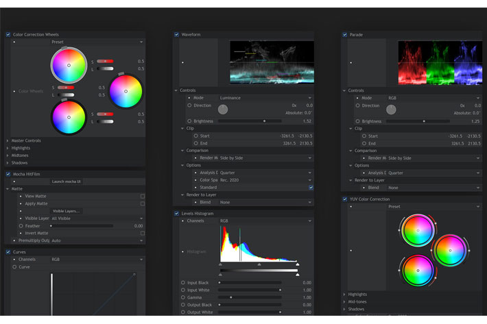 HitFilm 13 Pro: Foundry's Camera Tracker integrated in timeline 1