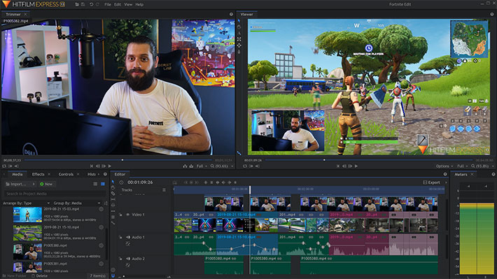 HitFilm Express 13: learn how to create professional caliber gaming videos  by Jose Antunes - ProVideo Coalition