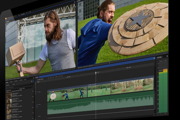 Create Avengers-style effects with a free video software