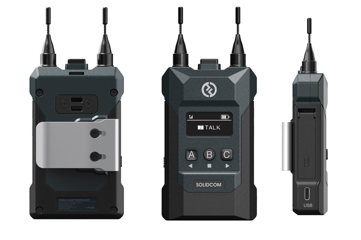 Hollyland Solidcom M1: wireless intercoms for teams