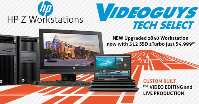 5 Killer HP Z Workstations Customized for Video Editing by