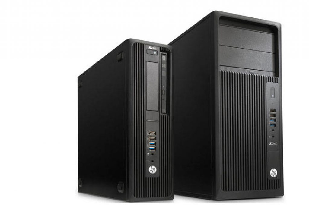 Maximum power at a low price: HP Z240 Workstation