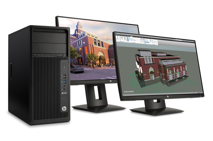 Maximum power at a low price: HP Z240 Workstation by Jose