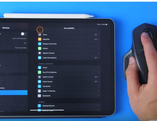 Trackpad & mouse support arrives to iOS and iPadOS 5