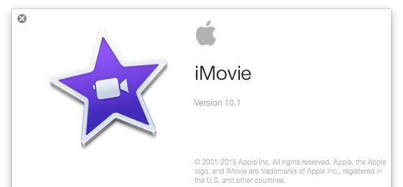 iMovie 10 1 English