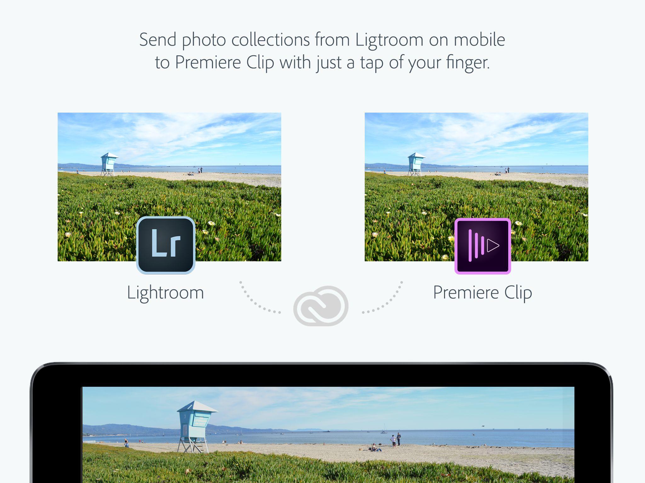 iPad Landscape LrClip