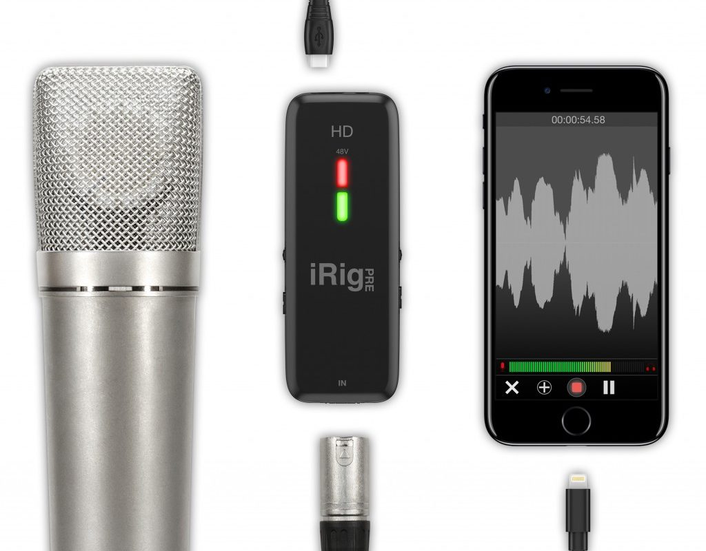 Review + comparison: iRig Pre HD cross platform audio interface 1