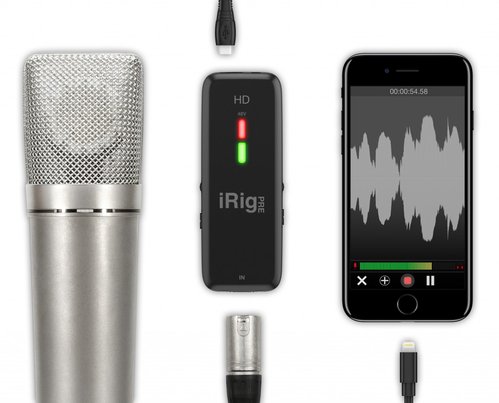 Review + comparison: iRig Pre HD cross platform audio interface 14
