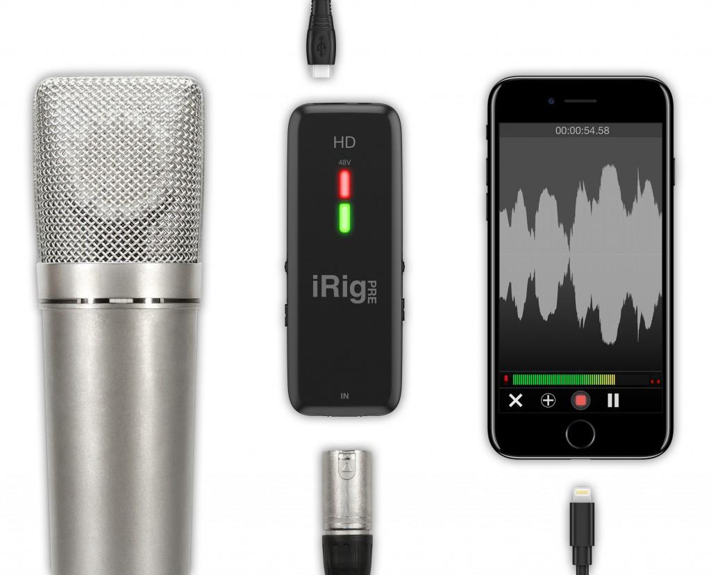 Review + comparison: iRig Pre HD cross platform audio interface by