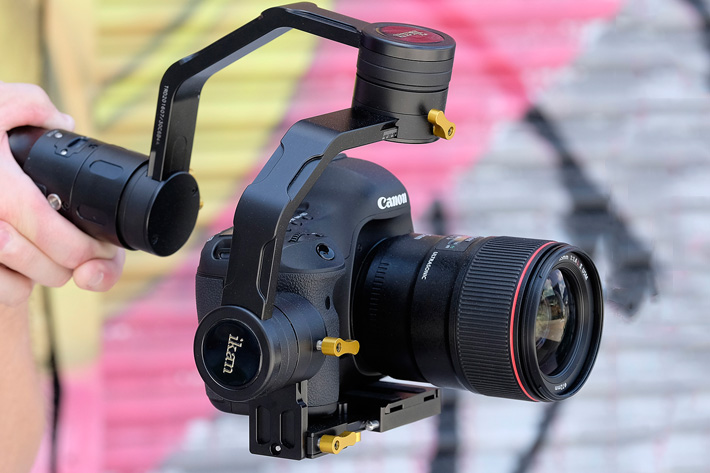 Ikan EC1: a new gimbal stabilizer