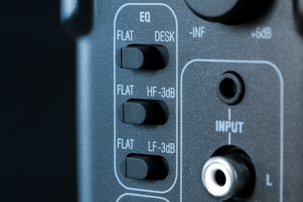 iLoud Micro Monitor EQ switches