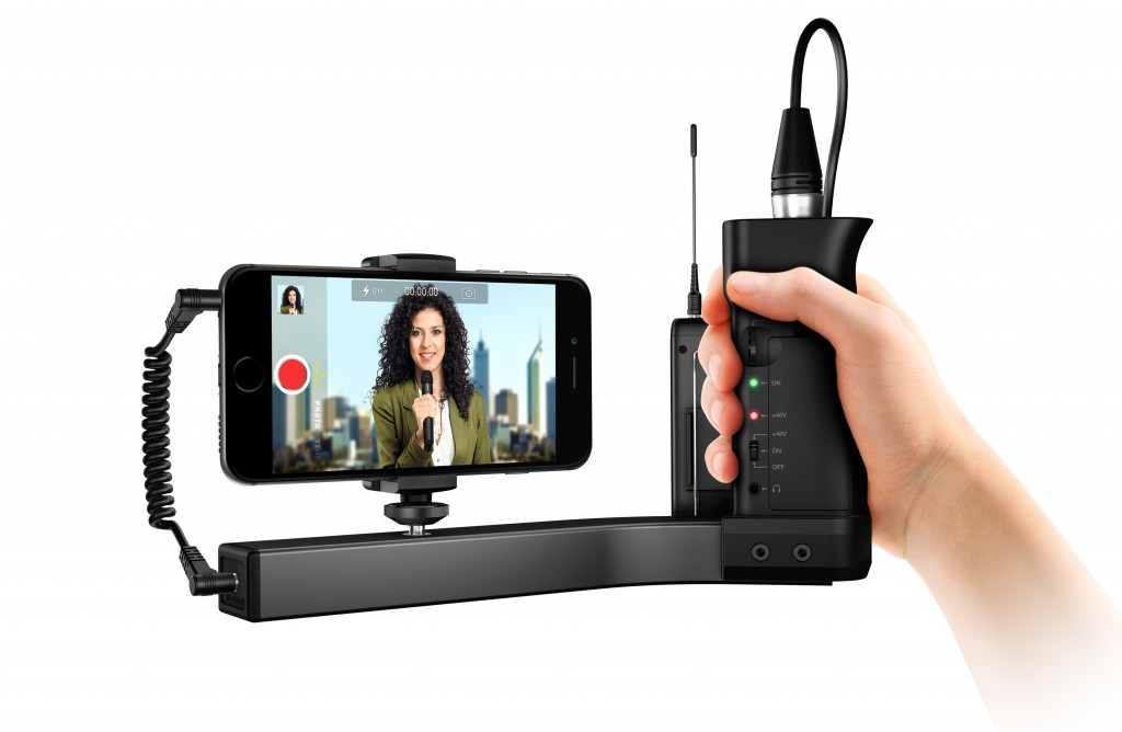 First look: iKlip A/V preamp/mount/grip for smartphones & small cameras 24