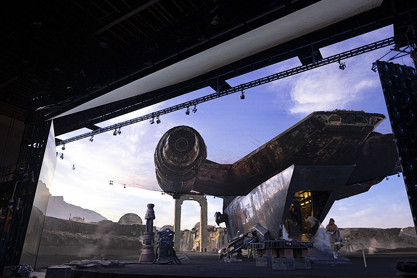 The Mandalorian: a test bed for Virtual Production