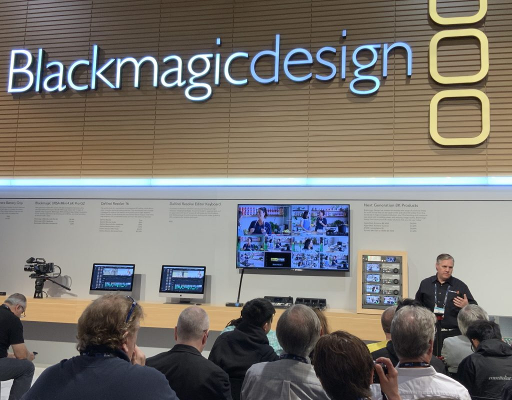 Blackmagic Design NAB press conference and DaVinci Resolve 16 17
