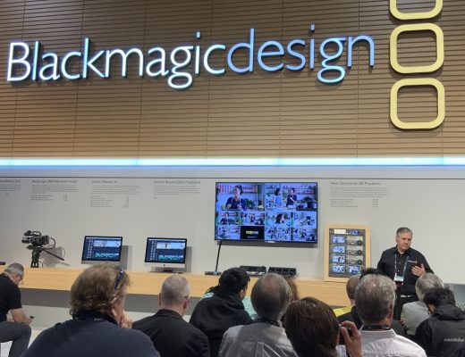 Blackmagic Design NAB press conference and DaVinci Resolve 16 18